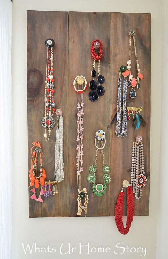 Jewelry Storage Diy Small Spaces