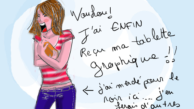 dessin, test tablette graphique
