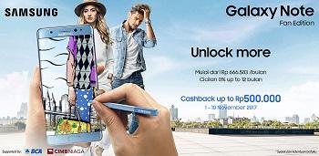 Promo Pre-order Samsung Galaxy Note FE