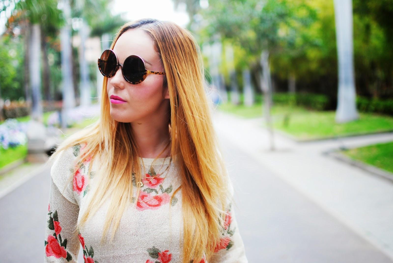 Nery Hdez, vjstyle, lovelyshoes, print floral, coachela look, zerouv sunglasses, zerouv bloggers