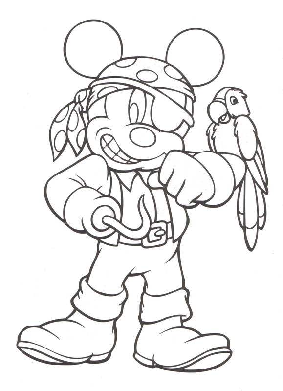 disney magic coloring pages - photo#25