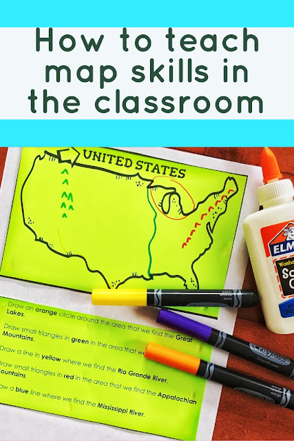How to teach map skills in the elementary classroom