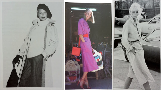 "Photos from the book ""WomanStyle - your personal guide to timeless fashion"" by Leah Feldon (1979)"