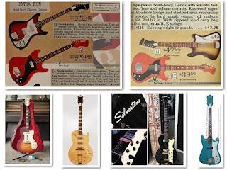 гитары Silvertone-Kay