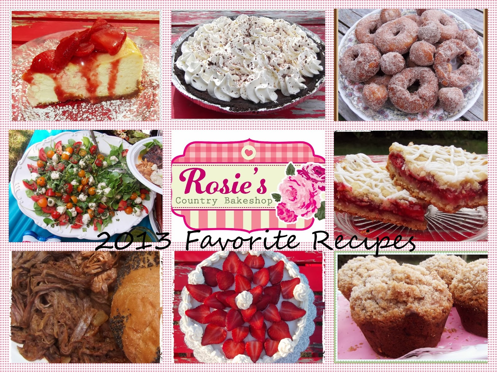 rosie s country baking favorite recipes from 2013