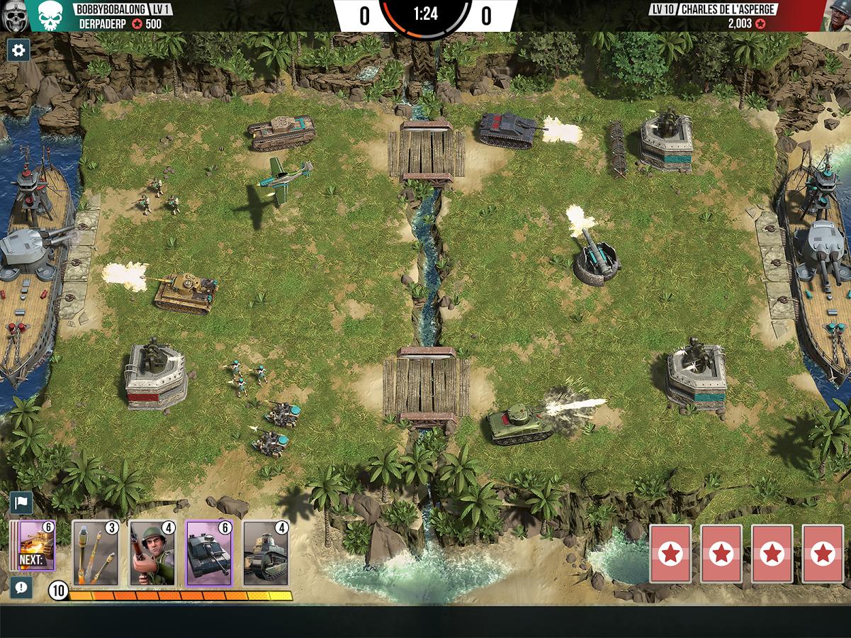 Battle Islands Commanders MOD APK