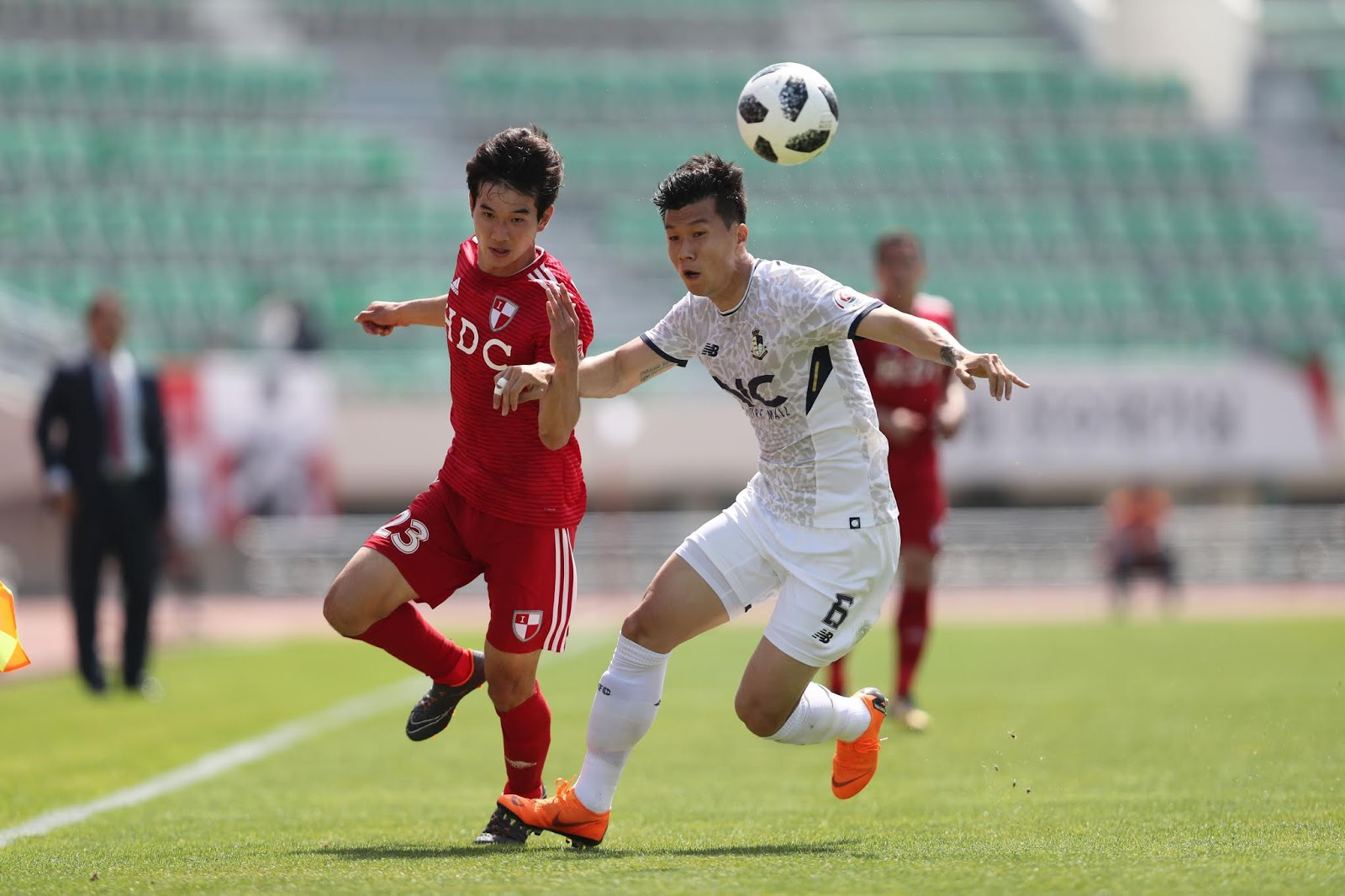 K League 2: Seoul E-Land vs Busan IPark