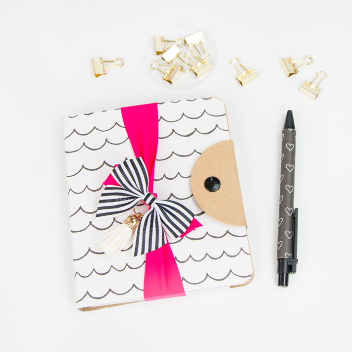 DIY Notebooks by @createoften using a little paper and glue