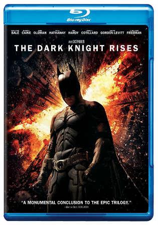 The Dark Knight Rises 2012 Hindi Dual Audio 720p BRRip