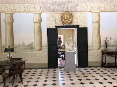 The Egyptian room in Napoleon's country house.