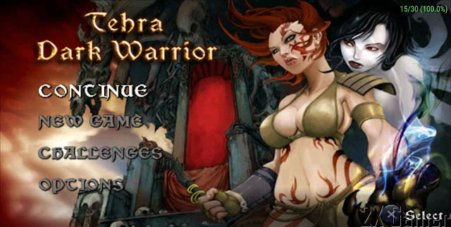 game psp android ukuran kecil tehra dark warrior