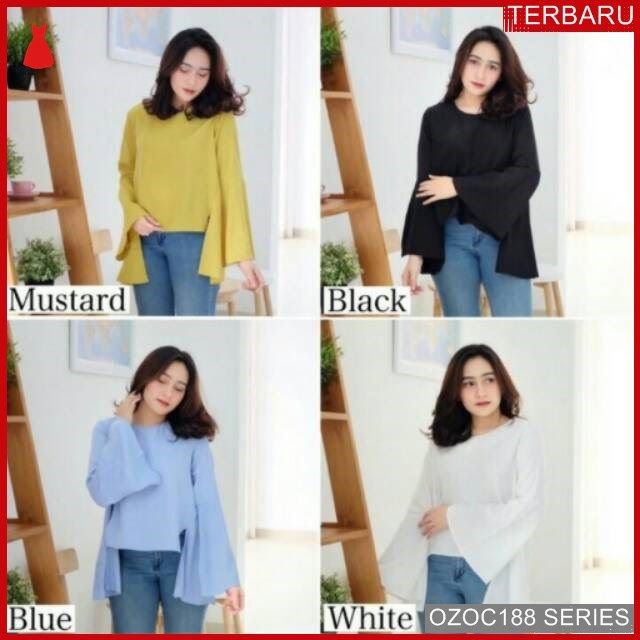 ZOC188B39 BAJU CROSS WARNA BACK ATASAN KOREA