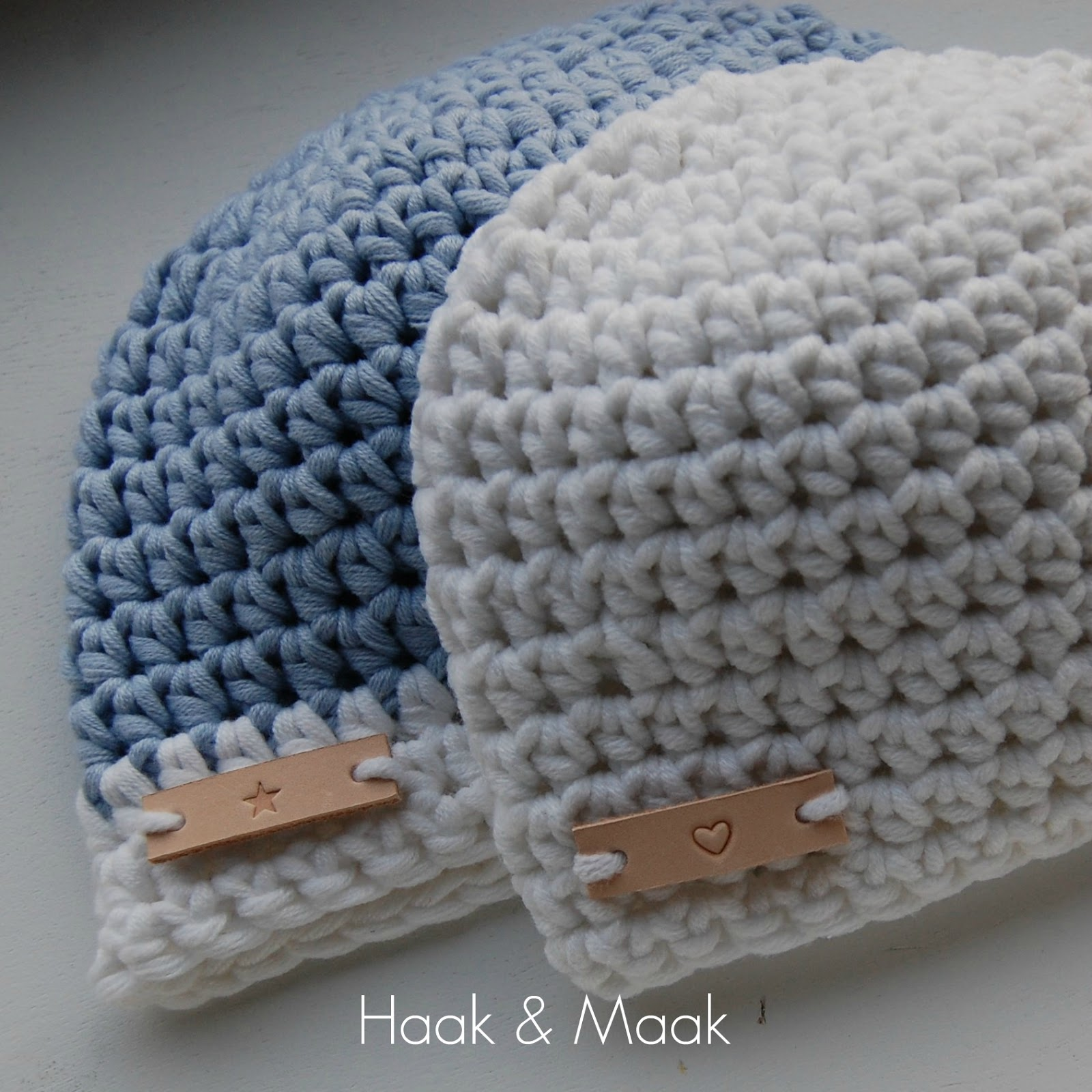 Haak By Daphne Baby Beanies