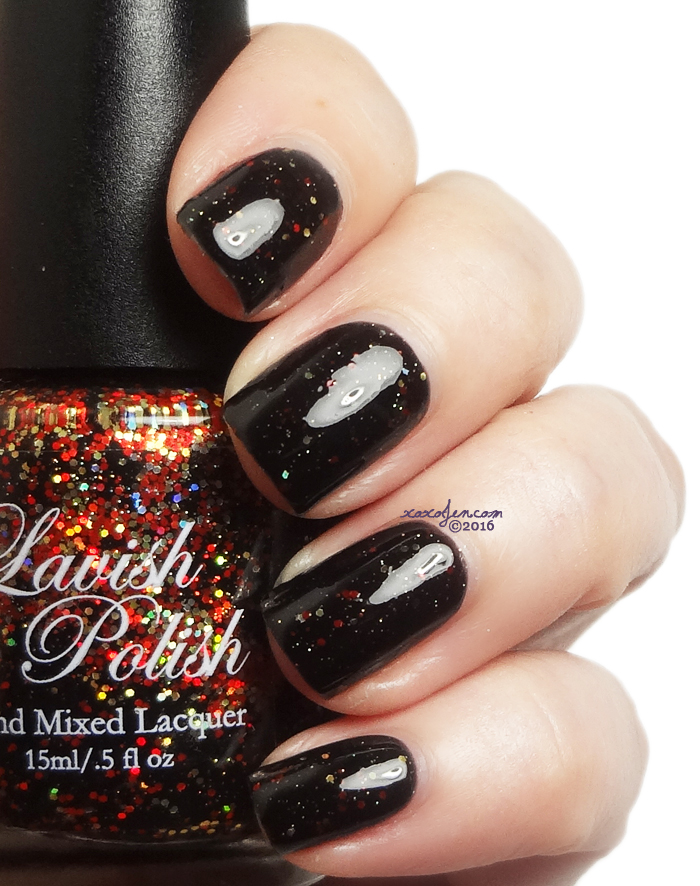 xoxoJen's swatch of Lavish Polish Daddy's Little Monster