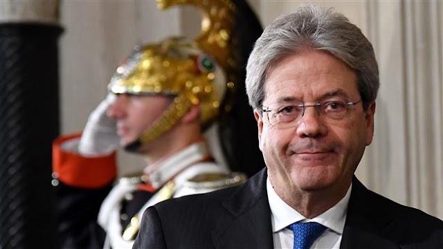 Paolo Gentiloni designated as Italy's new prime minister by President Sergio Mattarella
