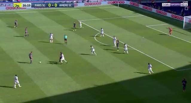 فيديو : باريس سان جيرمان يفوز على أميان بهدفين دون رد فى الدورى الفرنسى