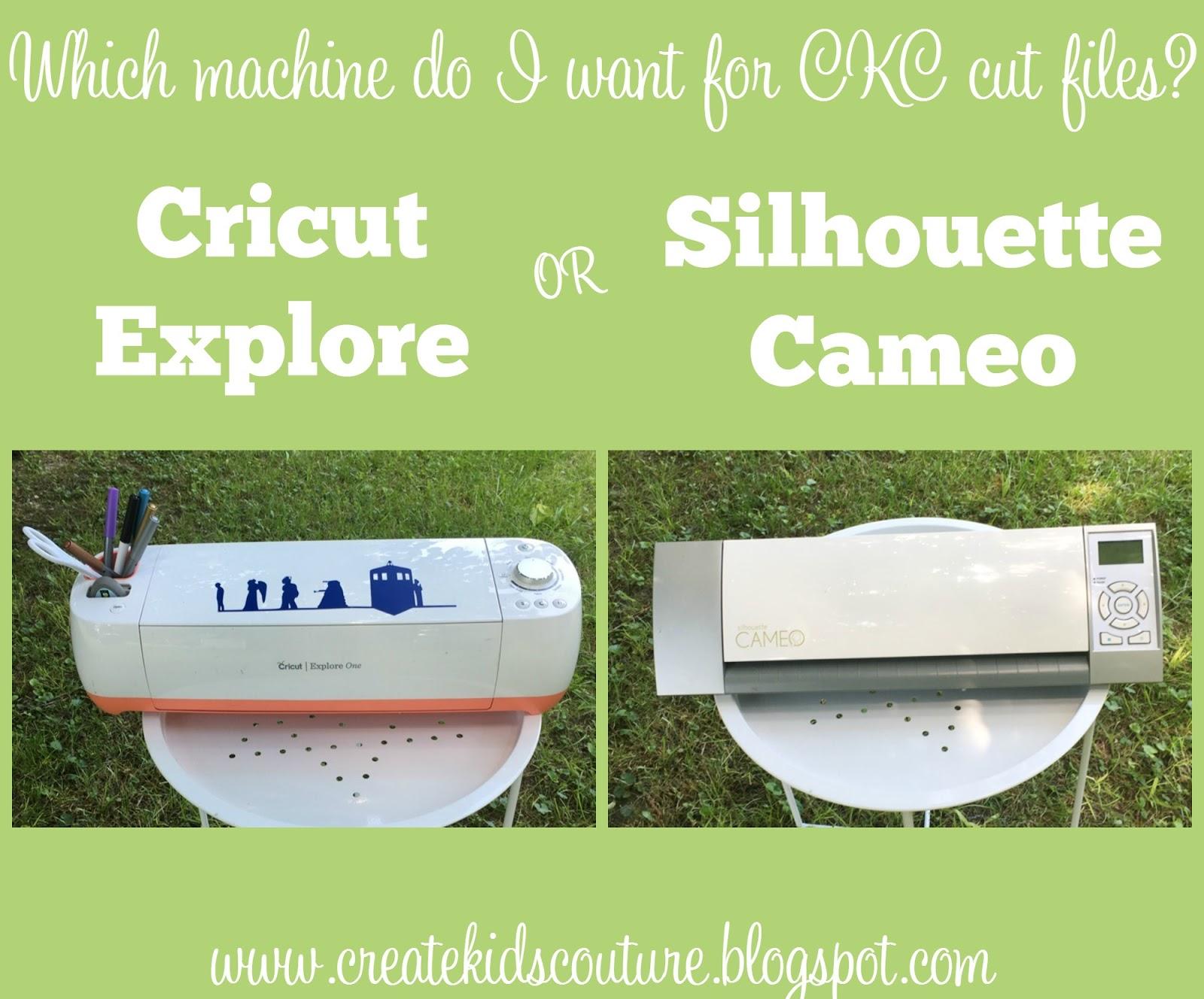 cricut silhouette machine