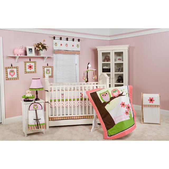 Cheap Crib Bedding Sets Pink Owl Crib Bedding Sets For