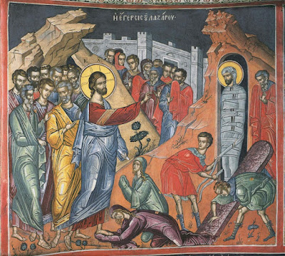 Η Ανάσταση του Λαζάρου (Λεβ Ζιλλέ, Μοναχού της Ανατολικής Εκκλησίας)