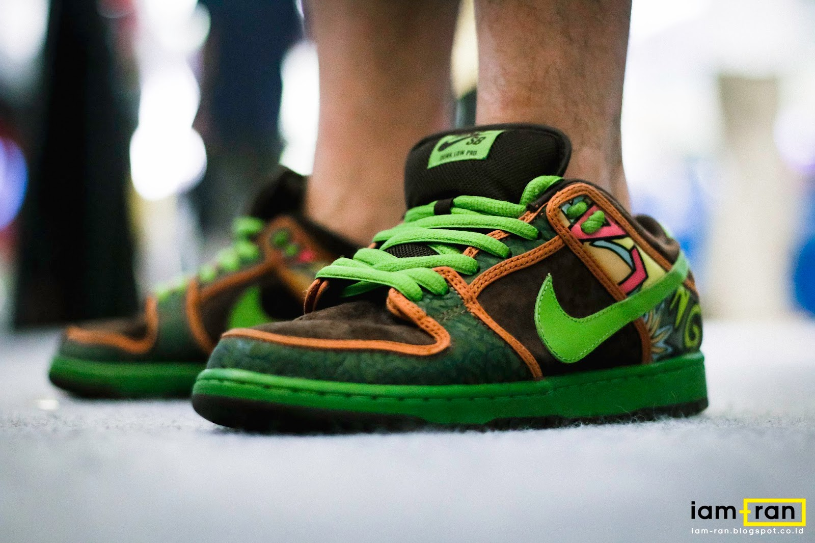 Iam Ran On Feet Salim Nike Dunk Low Sb De La Soul