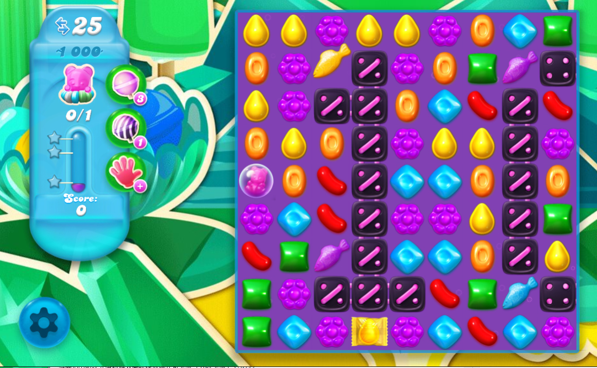 Candy Crush Soda saga Saga 1000