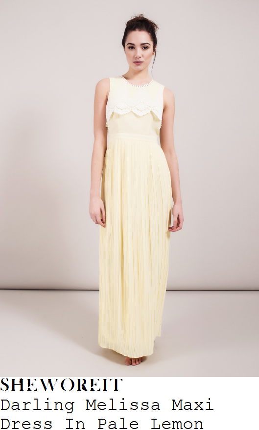 lydia-bright-darling-melissa-pale-lemon-yellow-and-white-lace-overlay-detail-sleeveless-pleated-maxi-dress