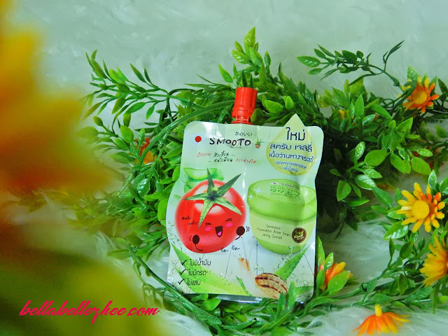 SMOOTO INDONESIA TOMATO ALOE SNAIL JELLY SCRUB