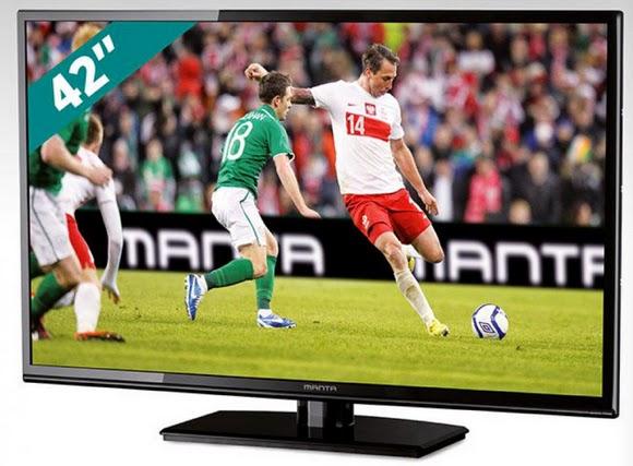 Zaktualizowano Testujemy produkty z Biedronki: Telewizor Manta LED4202 42 cale z PJ22