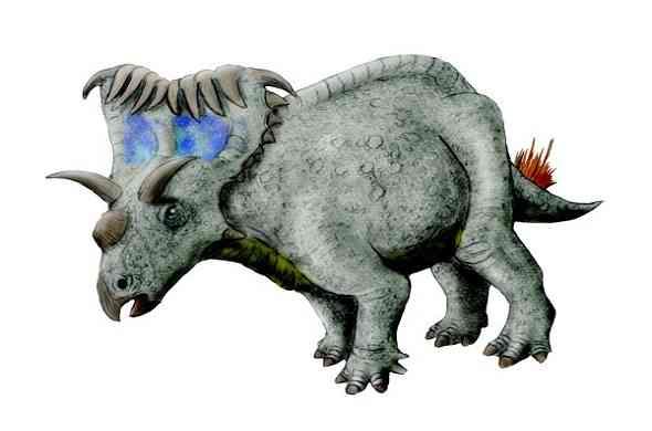 kosmoceratops-dinasour-كوزموسيراتوبس-ديناصور