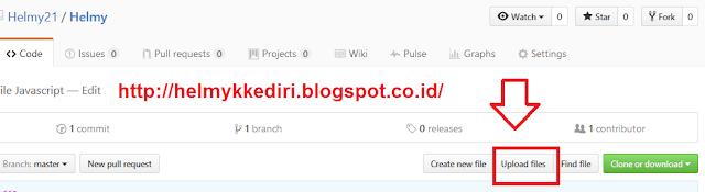 Cara Upload Javascript CSS keGitHub