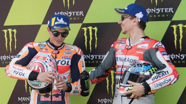 Soal Kepindahan ke Honda, Lorenzo Berutang pada Marquez