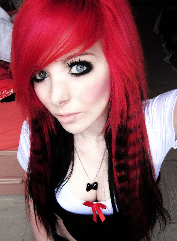 Emo Lifestyle Emo Girl Red Hair