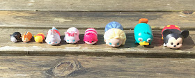 Disney Tsum Tsum Vinyl 9 pack series one
