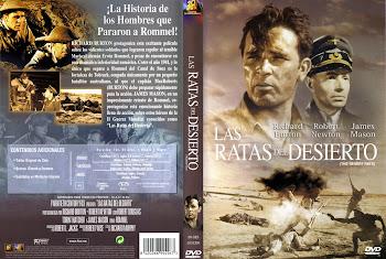 Caratula dvd: Las ratas del desierto (1953) (The Desert Rats)