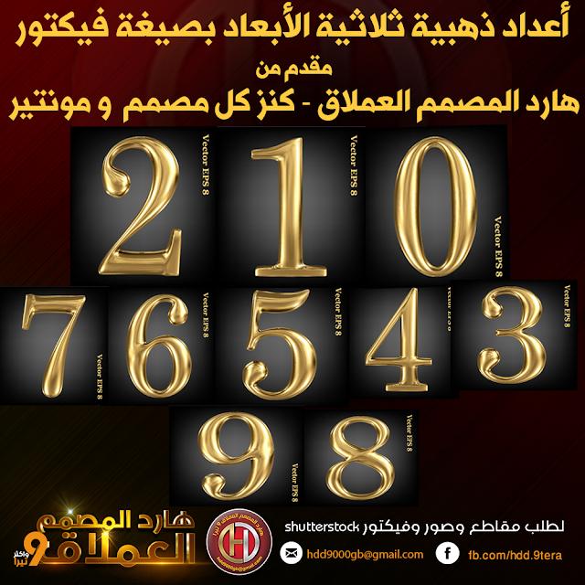 أعداد ذهبية بصيغة فيكتور القابلة للتعديل