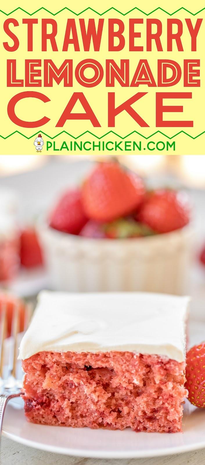 Strawberry Pie Filling Cake Mix Eggs