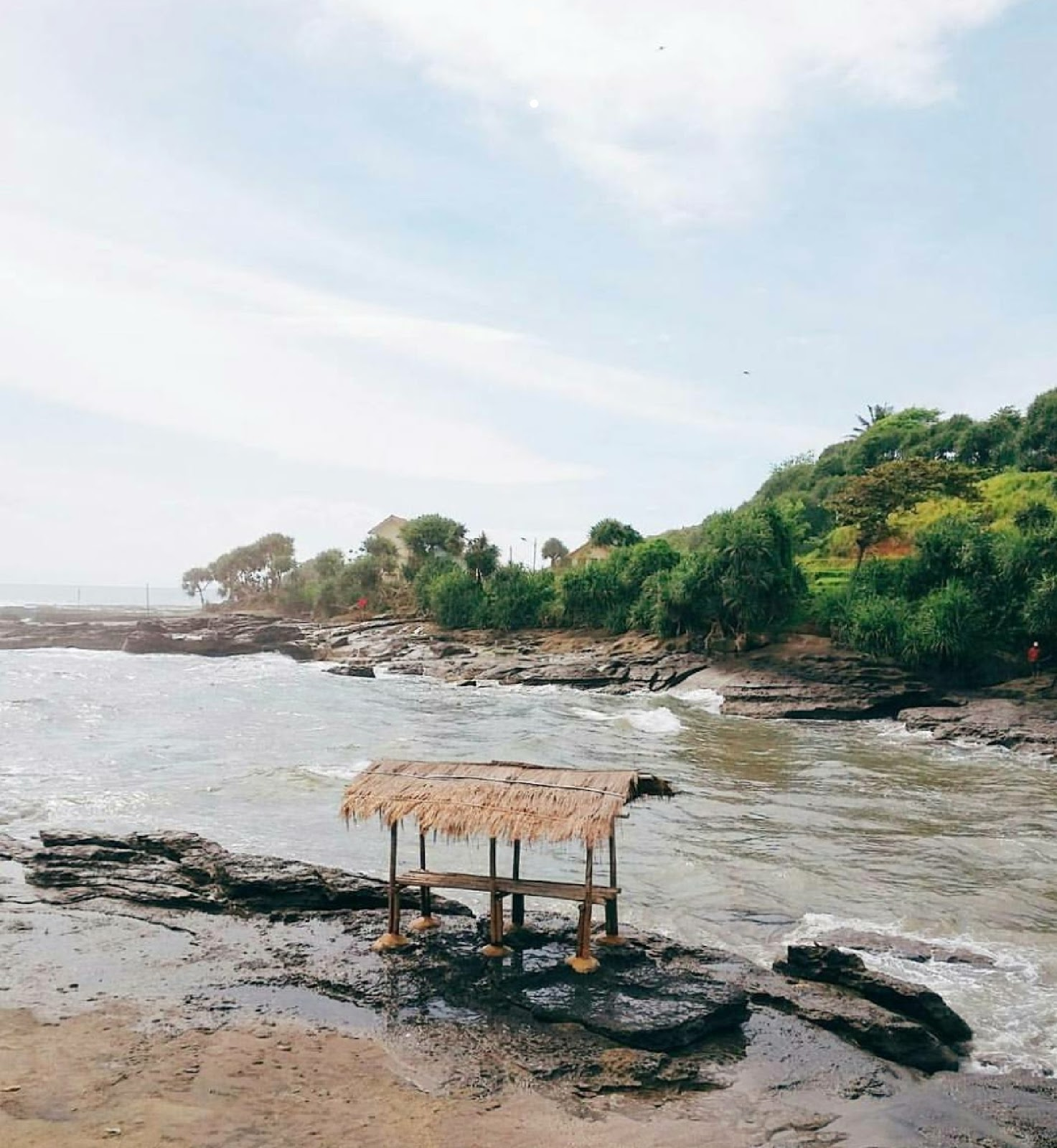 Foto Pantai Sodong Lalay Garut, Lokasi, Rute, Penginapan Terdekat