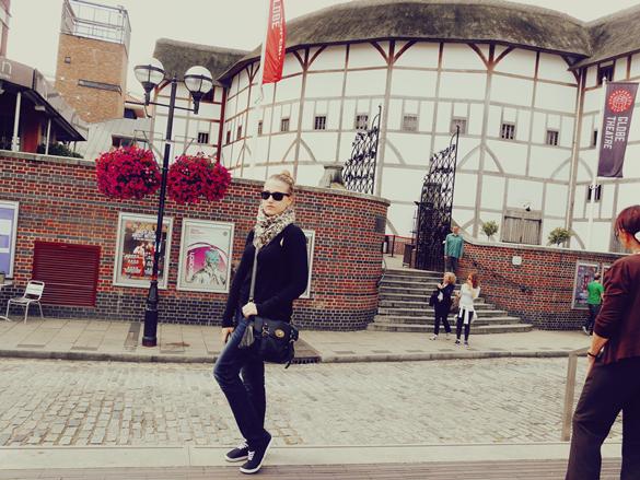 shakespeare globe theatre londres