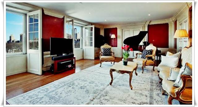 david bowie amenajari moderne apartment living room