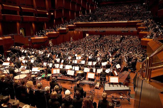 Interior Velha Ópera em Frankfurt