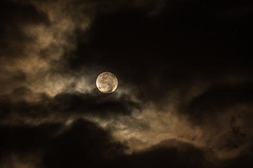 Amavasya moon