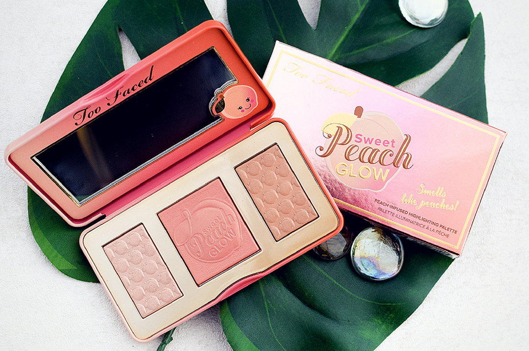 wie gut ist dieToo Faced Sweet Peach Glow Palette