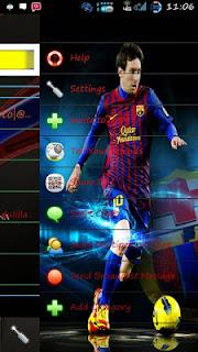 BBM MOD Tema Messi Barcelona V2.9.0.49 Apk