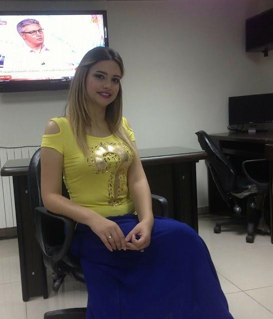 ميساء هرمز مذيعة قناة تلاقي السورية