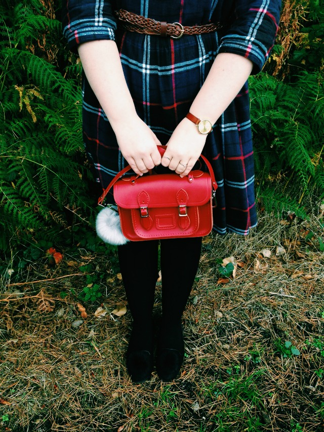 WHAT I THRIFTED #10 :: THE TARTAN SMOCK
