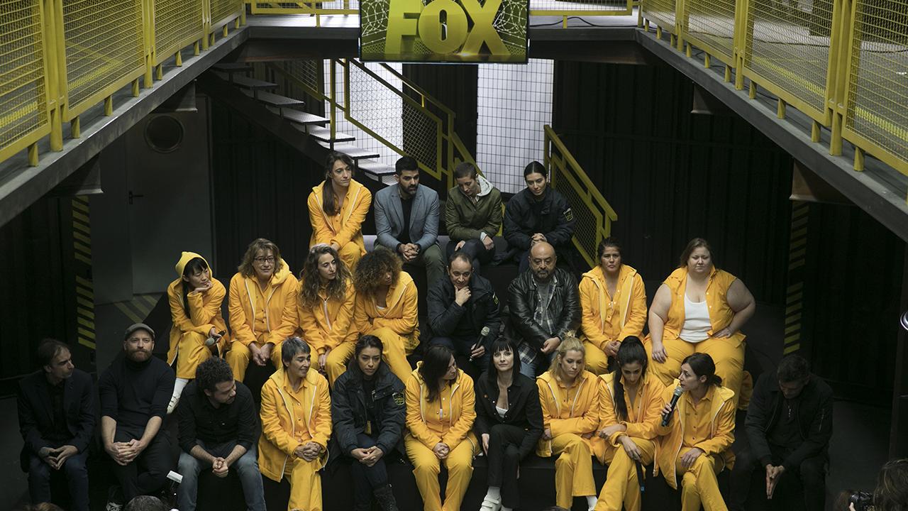 Fotografía del reparto de la tercera temporada de 'Vis a Vis'