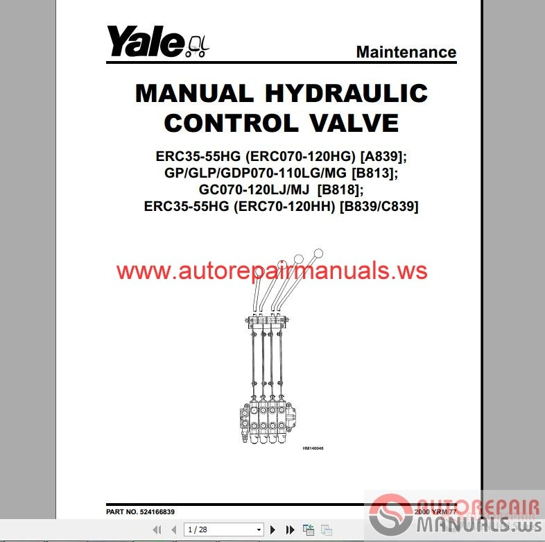 Yale Electric Forklift Wiring Diagram Pdf. Fork Lift Diagram ... on
