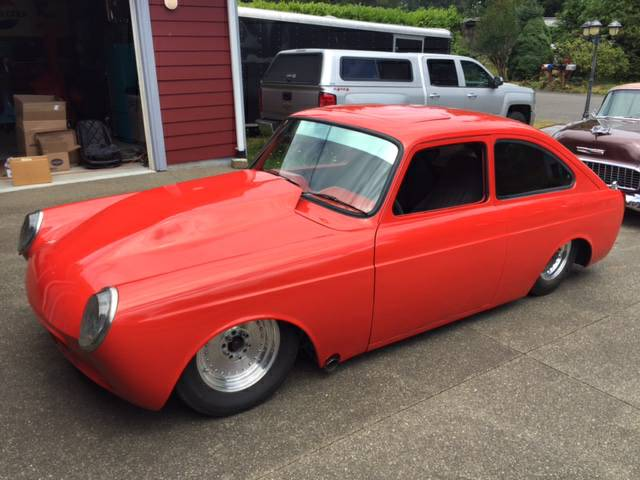 Daily Turismo: Vee Eight Tube: 1969 Volkswagen Fastback