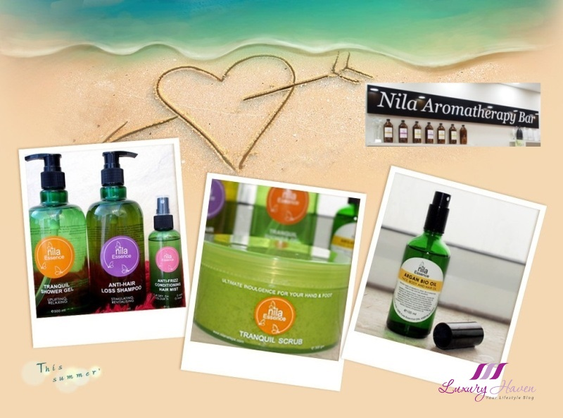 nila essence paraben free body skincare tranquil reviews