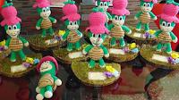 centros de mesa de manuelita de puchu's crochet